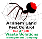 The Arnhem Land Pest Control logo.